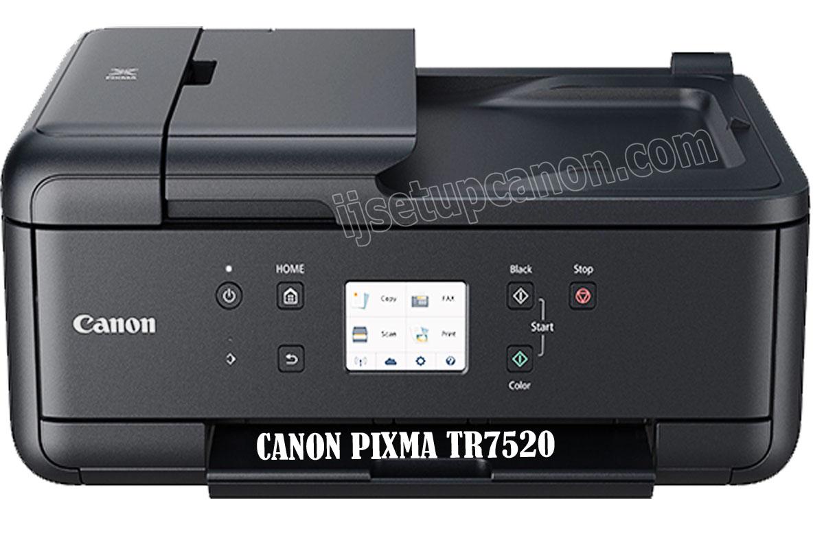 Canon Pixma TR7520 Driver Canada