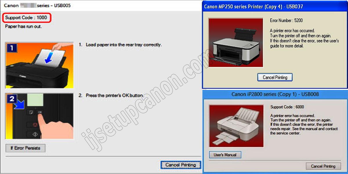 How to Troubleshoot Canon Printer Errors